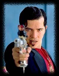 Watched Baz Luhrmann's take on Romeo and Juliet again this weekend.  I just love the edgy soundtrack (Garbage, Radiohead, etc.) and gangster style mixed with Elizabethan dialogue.  John Leguizamo as Tybalt is perfect. I can't wait for Lurhmann's next film: The Great Gatsby.