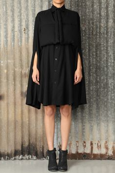 Yohji Yamamoto - Shirt Dress