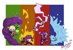 Crossover-League of Crashers by Albaharu.deviantart.com on @deviantART