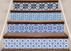 staircase tile decal