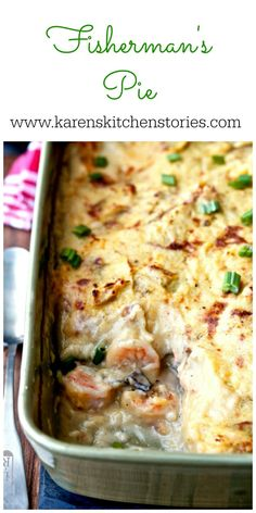 Casserole recipes for Dinner ideas are here. Here are the best Casserole recipes ranging from Chicken Casseroles, Beef Casseroles, Vegan, Noodles and more. Fish Casserole, Seafood Casserole Recipes, Seafood Recipes, Cooking Recipes, Cooking Fish, Seafood Pie Recipe, Seafood Pot Pie, Seafood Lasagna, Seafood Bake