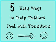 The Golden Gleam: Helping Toddlers with Transitions {We Get It}