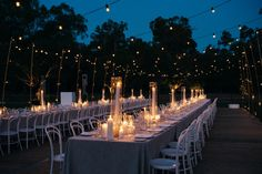 Real Wedding / Twilight Summer Celebration