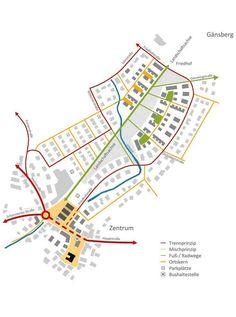 Prize category: Erschließung - Maria Home Urban Design Concept, Urban Design Diagram, Urban Design Plan, Presentation Board Design, Project Presentation, Site Analysis Architecture, Concept Architecture, Landscape Diagram, Urban Landscape