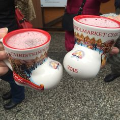 Cheers from Christkindlemarket, Chicago, 2015