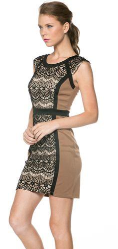 One Hottie Mama  - Crochet Lace Trimmed Dress, $59.90 (http://stores.onehottiemama.com/crochet-lace-trimmed-dress/)