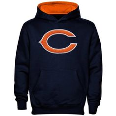 Chicago Bears Toddler / Kids Primary Logo Pullover Hood by Outerstuff / Nike $27.95  #ChicagoBears