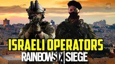 Rainbow Six Siege Israeli Operators Itur & Eslot Special Forces IDF Israel Kele 0-6 Map Fan made - YouTube