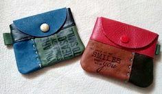 つぎはぎ革のコインケースと・・・メルカリ♪ - +RIN+ 大人可愛い『革』のアクセサリー♪