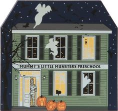 Mummy's Little Munsters Preschool | The Cat's Meow Village