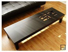 CLASSIC II  COFFEE Table // 60 x 18 x 13H // Black by MSTRF, $595.00