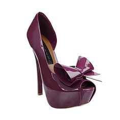 Steve Madden- I have this in black without the bow #LoveIt but can't wear it everday too high -__-