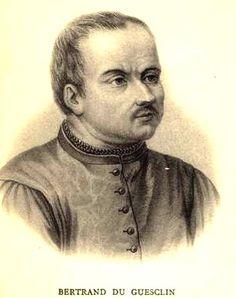 Bretons célèbres : Bertrand Du Guesclin  militaire