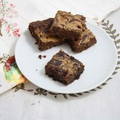 Healthy Peanut Butter Brownies