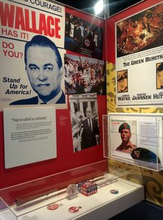 George Wallace for president 1968 Chicago History Museum, John David, Presidents, Baseball Cards