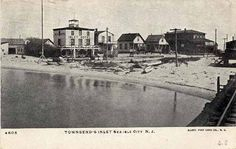 1906 Post Card Hard Working Husband, Sea Isle City, Friends Laughing, The Rest Of Us, History Projects, Cape May, Post Card, My Happy Place, Beach House