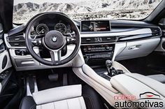 BMW revela nova geração do X6 com visual mais moderno