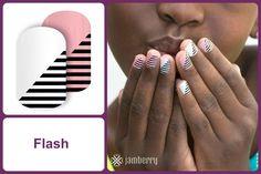 FLASH Jamberry Nail Wrap #flashjn