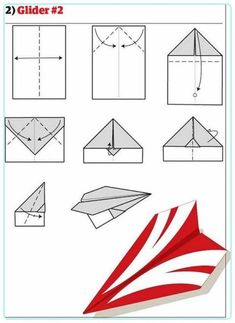 DIY Paper Planes - Collection of 12 great tutorials on how to make some badass planes from paper. Improve your origami skill and make a great paper plane! Best Paper Airplane Design, Paper Airplane Steps, Paper Airplane Book, Paper Airplane Folding, Best Paper Plane, Paper Airplane Models, Paper Planes, Airplane Crafts, Origami Paper Plane