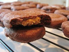 Baking and Mistaking: Chocolate Peanut Butter Surprise Cookies