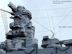 IJN Yamato | 3DHISTORY.DE Yamato Class Battleship, Model Warships, Prinz Eugen, Imperial Japanese Navy, Dog Fighting, History Channel, United States Navy, Ship Art, Royal Navy