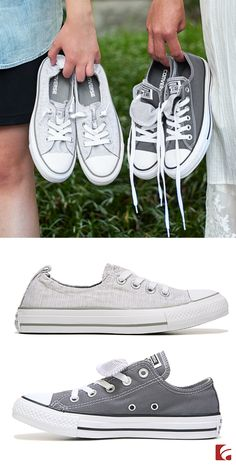 Some things are just better together—like cute Converse! Whether you want something light and heathered or dark and solid, the perfect style is never hard to find.