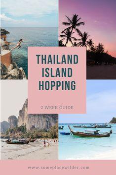 A breakdown of our 2 week Thailand holiday Thailand Island Hopping, The Last Leg, Happy Hour Specials, Thai Islands, Beach Weather, The Longest Journey, Walking Street, Beach Bungalows, Destin Beach