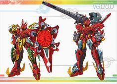 V Gundam X Kamen Rider OOO MEGA MAX