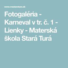 Fotogaléria - Karneval v tr. č. 1 - Lienky - Materská škola Stará Turá