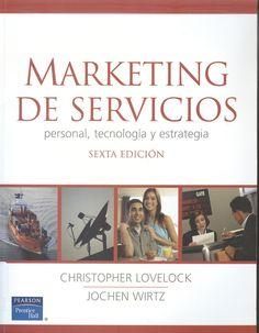 """Lovelock, Christopher. """"Marketing de servicios"""" 6ª ed. 1 ejemplar"""