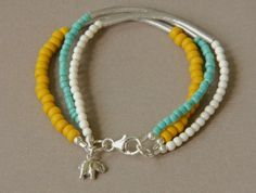 Beaded Bracelet - Pulsera con mostacillas #IDEA