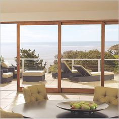 Bring the outdoors in with Marvin Lift and Slide Doors. These large sliding glass doors create a moving wall of glass up to 48 feet wide.