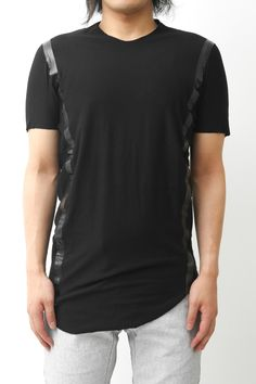 Short Sleeve Giza Cotton Jersey Adhesion Sewing - Devoa