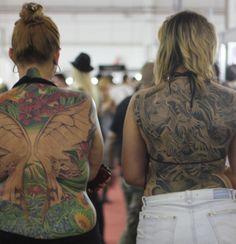 aLeda em parceria com o Almanaque Digital de Tatuagem esteve presenta na 2ª edição da Tattoo Week