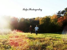Couples sunset farm photography