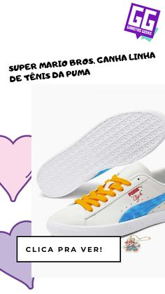 Queremos! Super Mario Bros, Geeks, Geek Stuff, Sneakers, Shoes, Girls Girls Girls, Te Quiero, Geek Things, Tennis