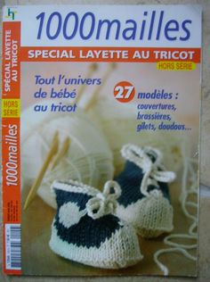 Children and Young Baby Knitting Patterns, Baby Patterns, Knit Crochet, Crochet Hats, Knitting Books, Crochet Magazine, Book Crafts, Baby Booties, Baby Wearing