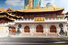 China mal anders: Fotowork vom Jinang Tempel zur East Nanjing Lu