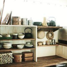 生活感/キッチン収納/ブログUP完了/模様替え/DIY/キッチン…などのインテリア実例 - 2015-10-18 09:42:51 | RoomClip(ルームクリップ)