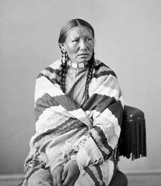 American Indians : White Hawk [wife of Big Foot] - Mniconjou 1872.