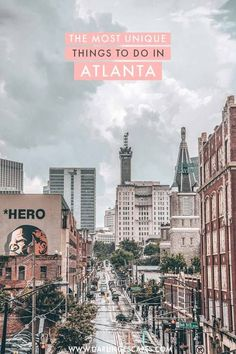 The most amazing and unique things to do in Atlanta Georgia. If you love exploring a city like a local and finding hidden gems these are the must-do's in Atlanta to get you started! Visit Atlanta, Atlanta Travel, Atlanta Usa, Atlanta Georgia, Athens Georgia, Places To Travel, Places To See, Travel Destinations, Thailand