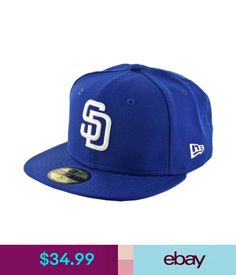 Hats Era 59Fifty San Diego Padres Fitted Hat (Royal Blue/White) Men's Mlb Cap #ebay #Fashion