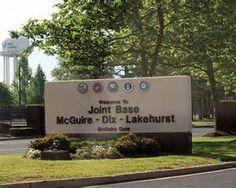 McGuire-Dix Air Force Base, Lakehurst New Jersey