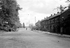 De Rosendaalseweg in 1945 - Serc