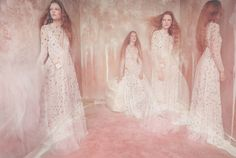Publication: Vogue Italia March 2017 Model: Jess PW, Kirin Dejonckheere, Roos Abels Photographer: Sølve Sundsbø Fashion Editor: Katie Shillingford Hair: Syd Hayes Make Up: Sam Bryant