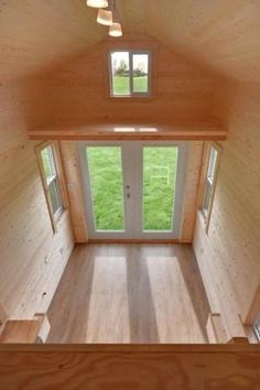 160 Sq. Ft. Tiny House on Wheels by Tiny Living Homes Photo. love this 2nd mini loft concept for a reading nook. by reva