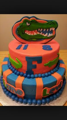 Gator cake  for Talisha for March 13