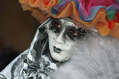 Carnevale di Venezia-Arlecchina