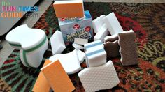Cheap Melamine Sponges vs Magic Erasers: I've always wondered if no-name melamine cleaning blocks are as good as Magic Erasers. So I tested them side by side. RESULT: A cheap melamine sponge works just as great!