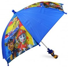 Paw Patrol Kids Umbrella with Molded Handle $22.99 www.mundyshops.com Measures approximately 28 inches in diameter when opened.